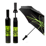 Artistic Black / Jade Bottle Umbrella