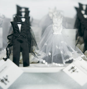 Bride & Groom Candy Boxes