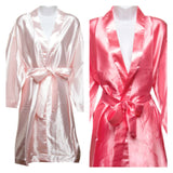 Plain Robes. Featured colours are Light Pink and Coral