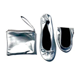 Silver Pumps in x 3 sizes