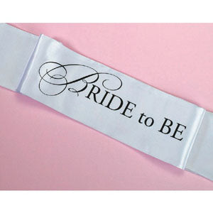 Sash Bride to Be. Bridal Shower