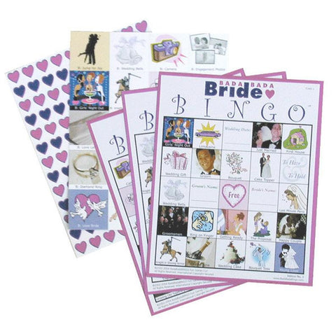 Bride Bingo for 20 Players