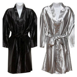 Plain Robes in beautiful colours. Featured Black or Grey.