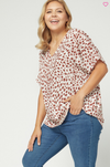 Spot You There Top - Plus Size