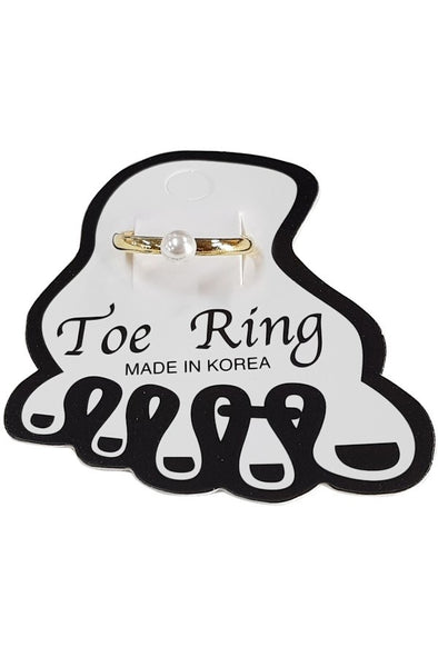 Pearl Toe Ring