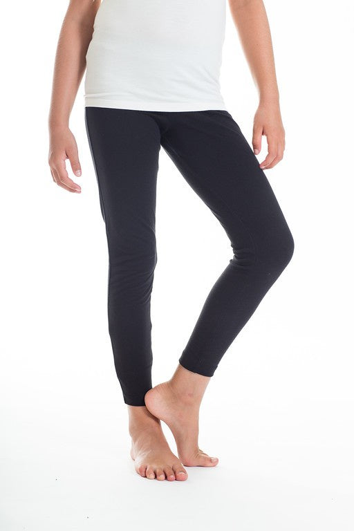 Stay Fun Leggings - Tween Charcoal
