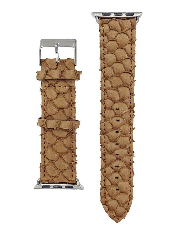 Just To Know Light Brown Watch Band