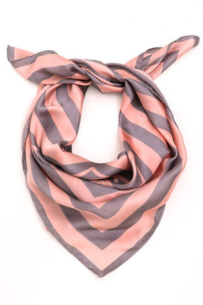 In Time Stripe Neck Scarf