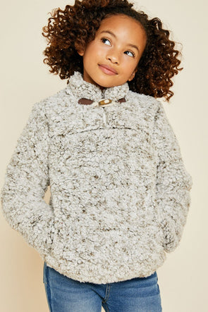 Cozy Days Fleece Pullover - Tween
