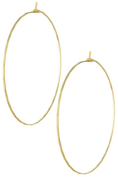 Sweet Simplicity Hoop Earrings