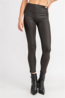 Fun Ways Vegan Leather Leggings