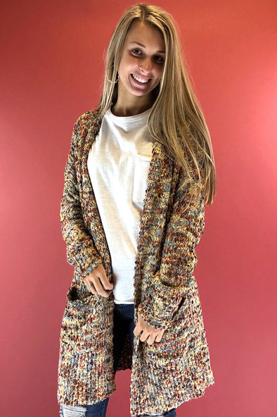 Cozy Up Here Cardigan