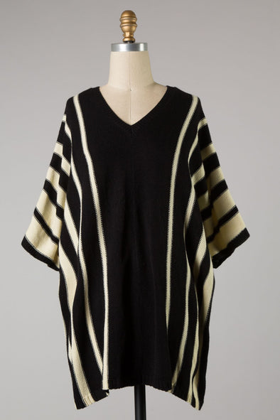 Moving Along Stripe Tunic Top
