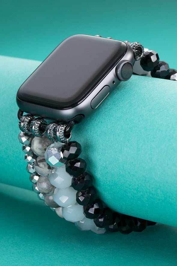 Mixed Bead Apple Watch Band - Multiple Colors