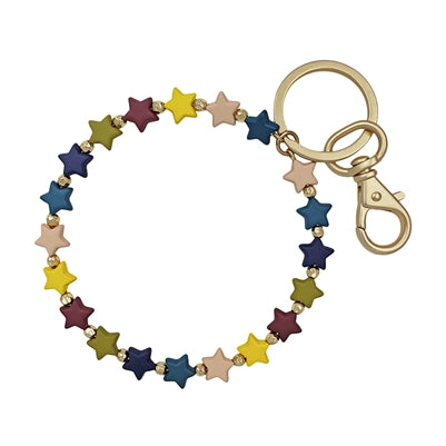 You're the Star Key Ring - Multiple Colors