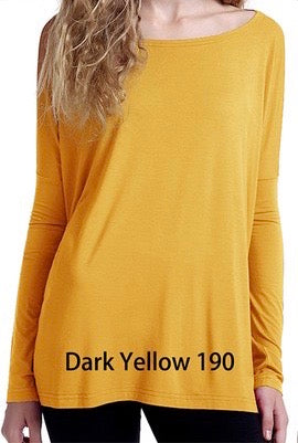 Close to Perfect Piko Top - Dark Yellow
