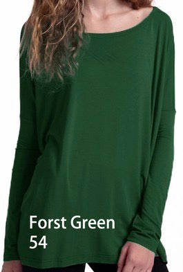 Close to Perfect Piko Top - Forest Green