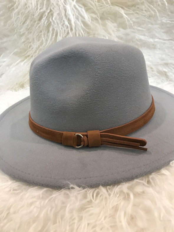 Kick It Back Fedora - Multiple Colors