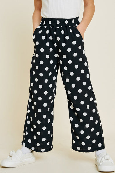 Cute As Ever Polka Dot Pants - Tween