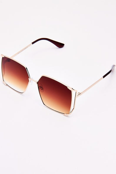 Large Frame Square Sunglasses