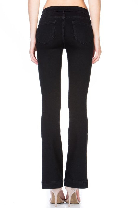 My Love Flare Jeans - Black