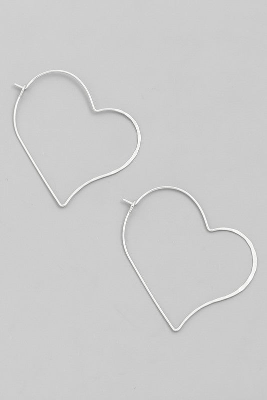My Whole Heart Earring - Multiple Colors