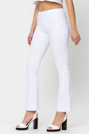 My Love Flare Jeans - White Wash - Petite Length
