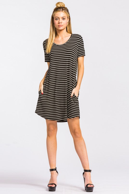 Casual Obsession Striped Dress