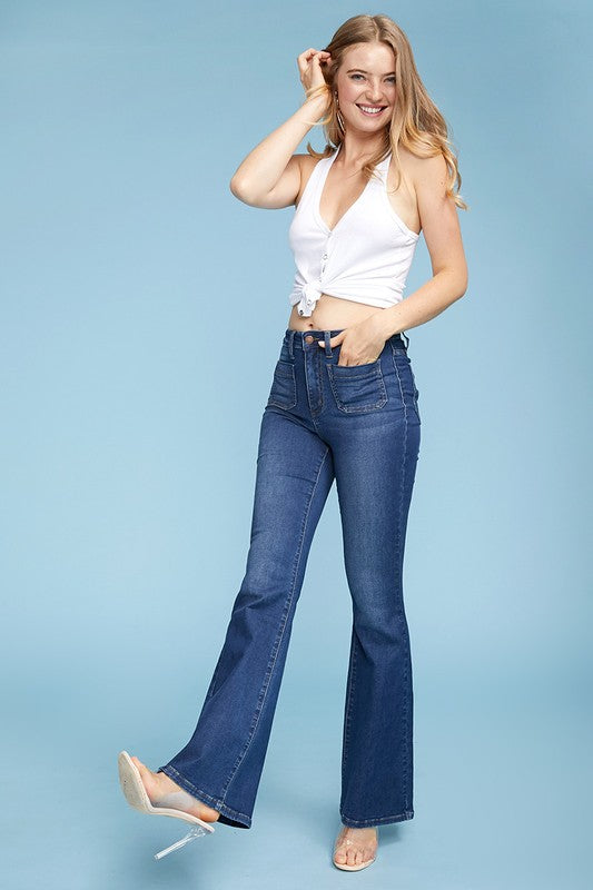Walking On Air Flare Jeans