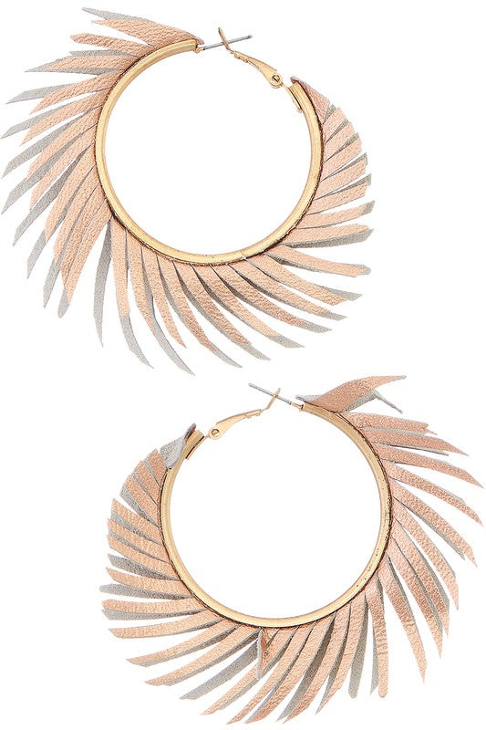 Breezy Nights Fringe Earrings - Multiple Colors