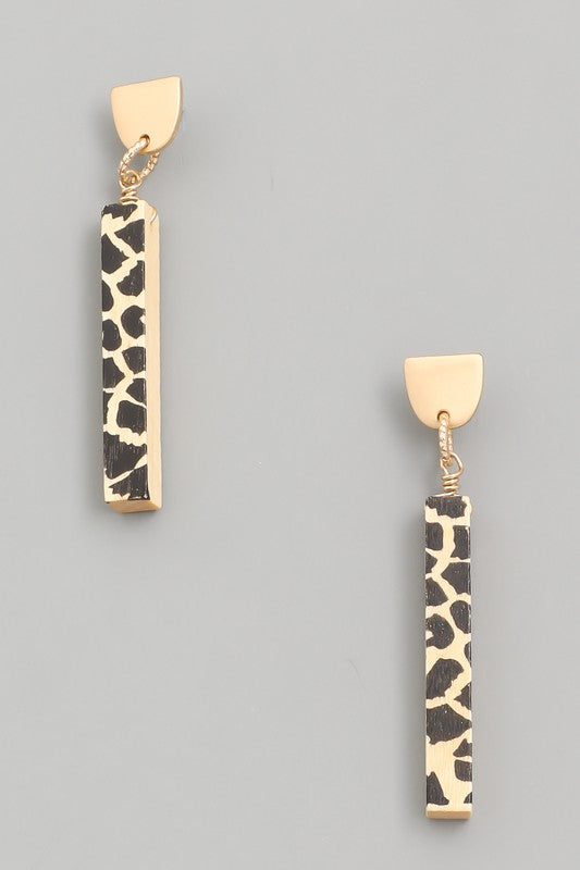 Wild For You Earrings - Multiple Colors