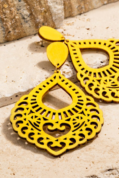 Favorite Filigree Earrings - Multiple Colors