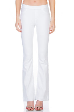 My Love Flare Jeans - White
