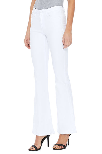Will You Ever White Flare Jeans