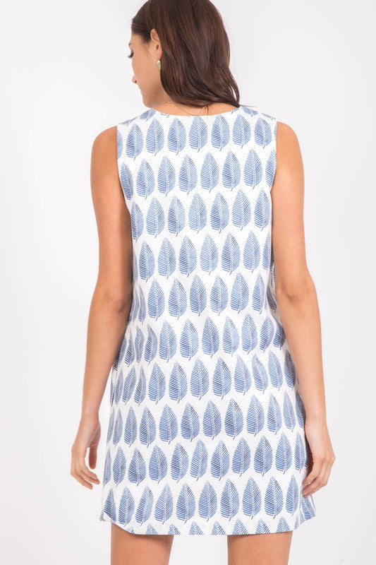 Shady Lady Printed Dress