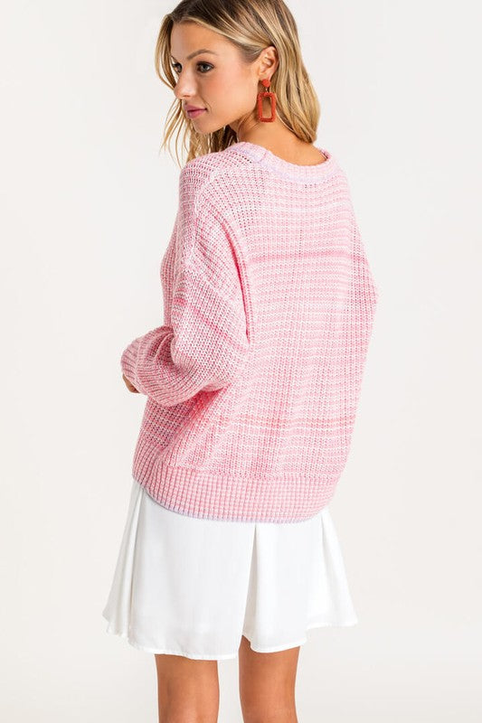 Blushin' My Way Through Sweater
