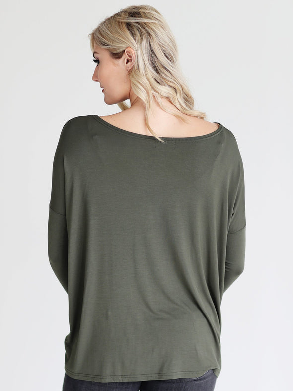Close to Perfect Piko Top - Army