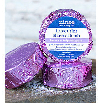 Rinse Shower Bombs