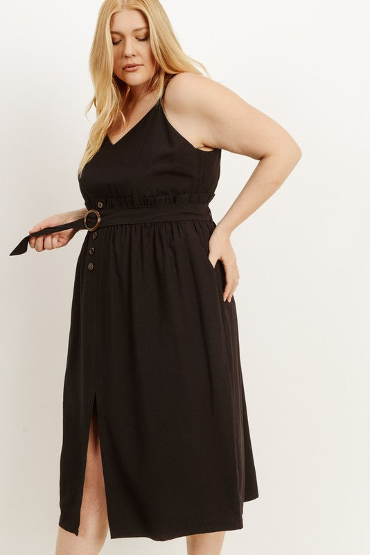 Way It Is Midi Dress Plus Size – Chatter Boutique