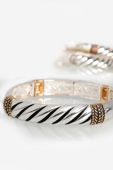 Antique Braided Bangle