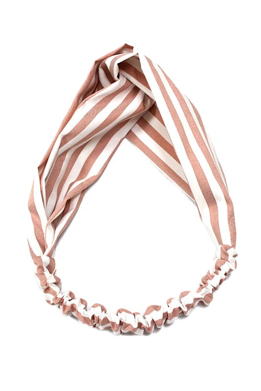Striped Knot Headband - Multiple Colors