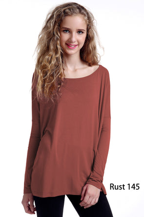 Close to Perfect Piko Top - Rust