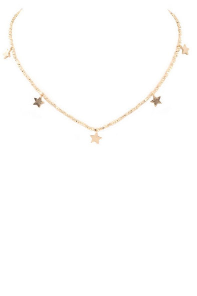 Want Me Out Star Necklace