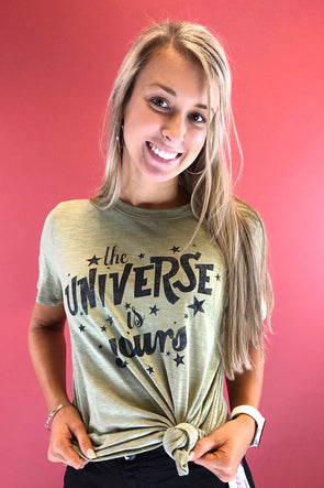 The Universe Is Yours Graphic Top