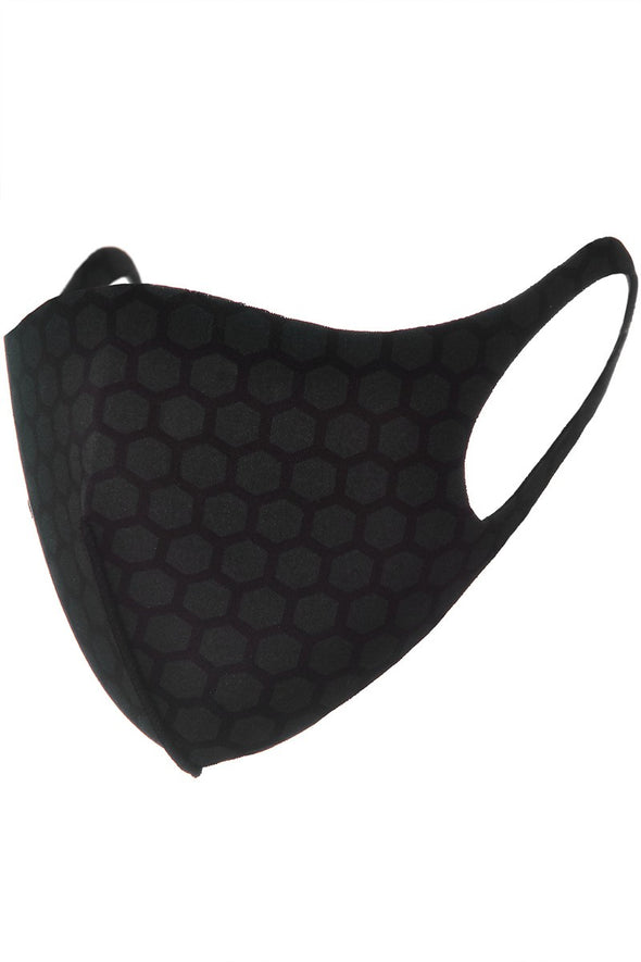 Reusable Black Sports Mask