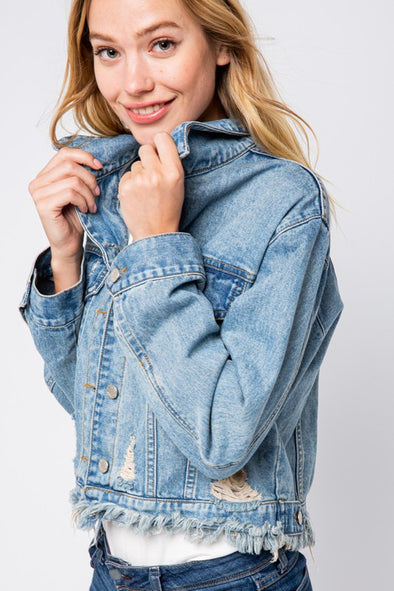Your Heart Denim Jacket