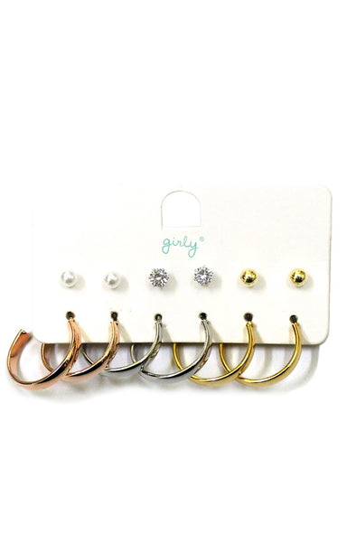 Good Times Roll Earring Set