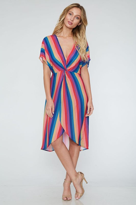 Turn On The Charm Midi Dress