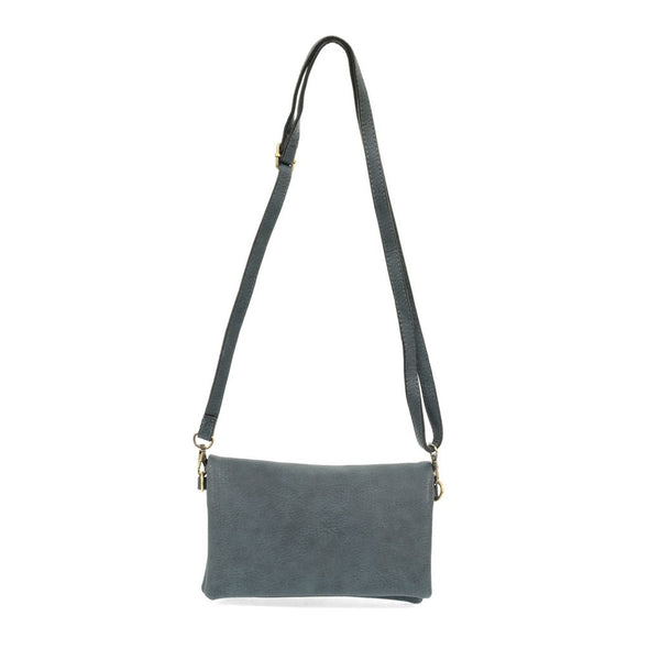 Kate Crossbody Clutch - Dark Chambray