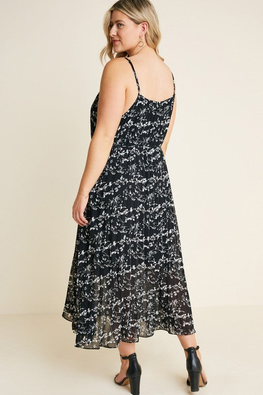 Now Is The Time Maxi Dress - Plus Size